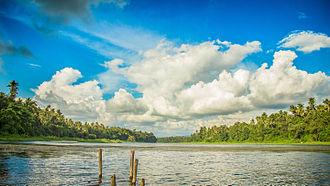 Chalakudy River - Chalakudy River anticipating the monsoons