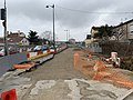 Chantier Construction Tramway IdF Ligne 10 Avenue Paul Langevin - Le Plessis-Robinson (FR92) - 2021-01-03 - 4.jpg