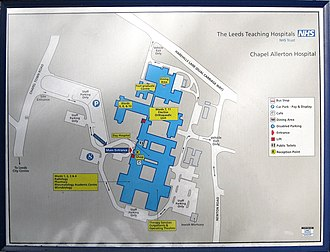 Chapel Allerton Hospital - Image: Chapel Allerton Hosp Sign