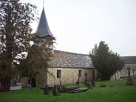 The chapel in Saint-Martin-de-Mieux