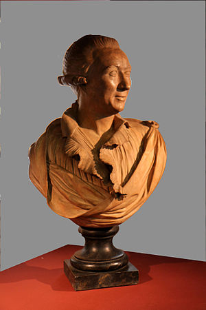 Claude-François Achard - Bust designed by Barthélémy-François Chardigny