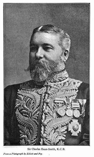 Charles Euan-Smith - Sir Charles Euan-Smith in court dress