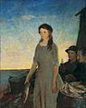 Charles W. Hawthorne - The Fisherman's Daughter.jpg