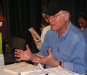 Charles Grodin - Grodin at the Book Expo 2007 at the Javits Center, New York City