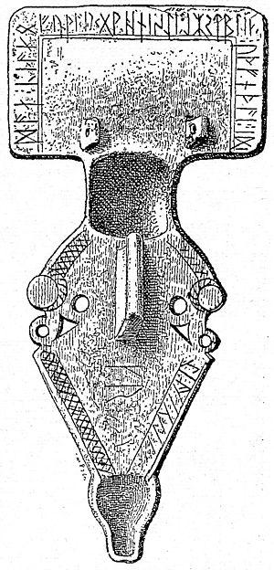 Charnay Fibula - The Charnay Fibula.