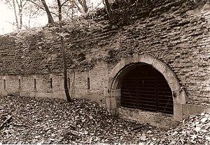 Fort de la Chartreuse - A redan of the Fort de la Chartreuse