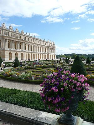 8th G7 summit - Palace of Versailles, the venue of the 8th G7 summit