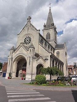 Chauny (Aisne) église Saint-Martin (01).JPG