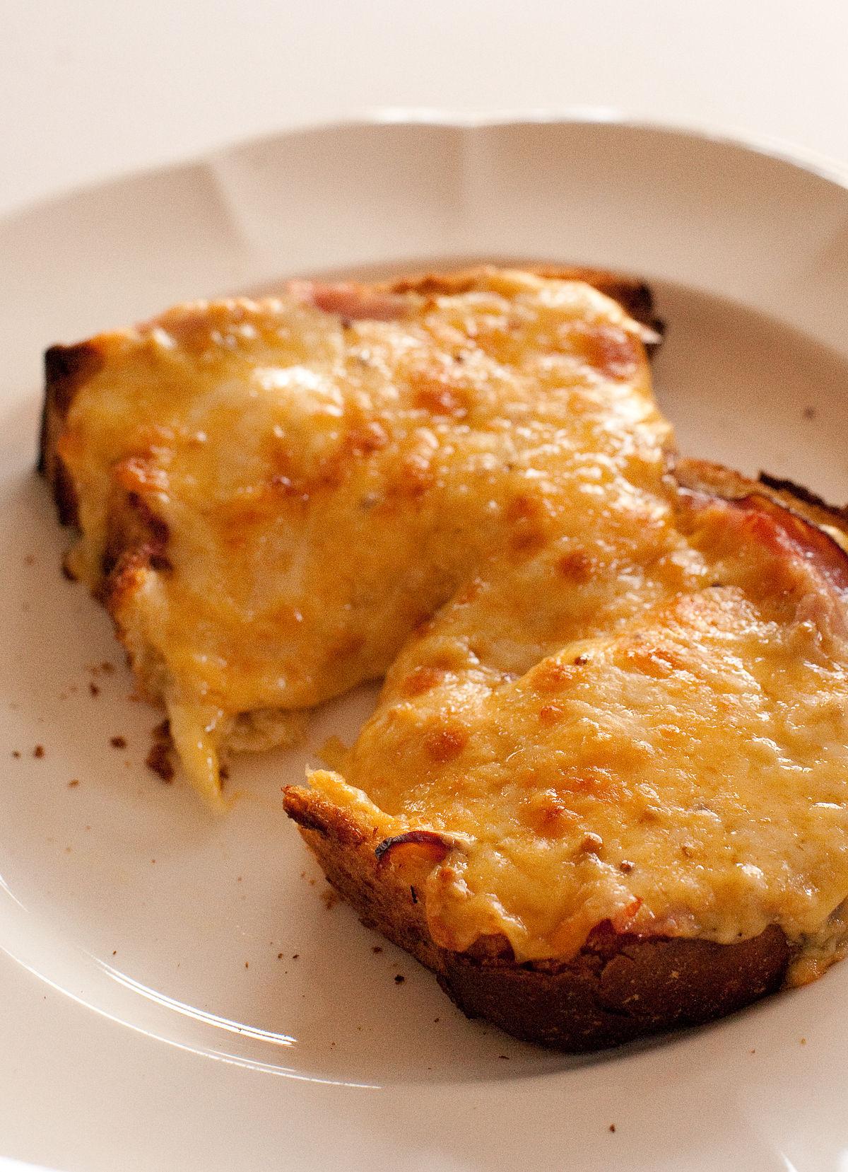 Cheese on toast - Wikipedia