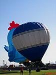 Chegada dos Balões no Domingo com o Astronauta. Evento comemorativo dos 10 anos do primeiro brasileiro no espaço, o Astronauta bauruense Marcos Pontes. O evento foi realizado no Recinto Mello de Moares em - panoramio (1).jpg