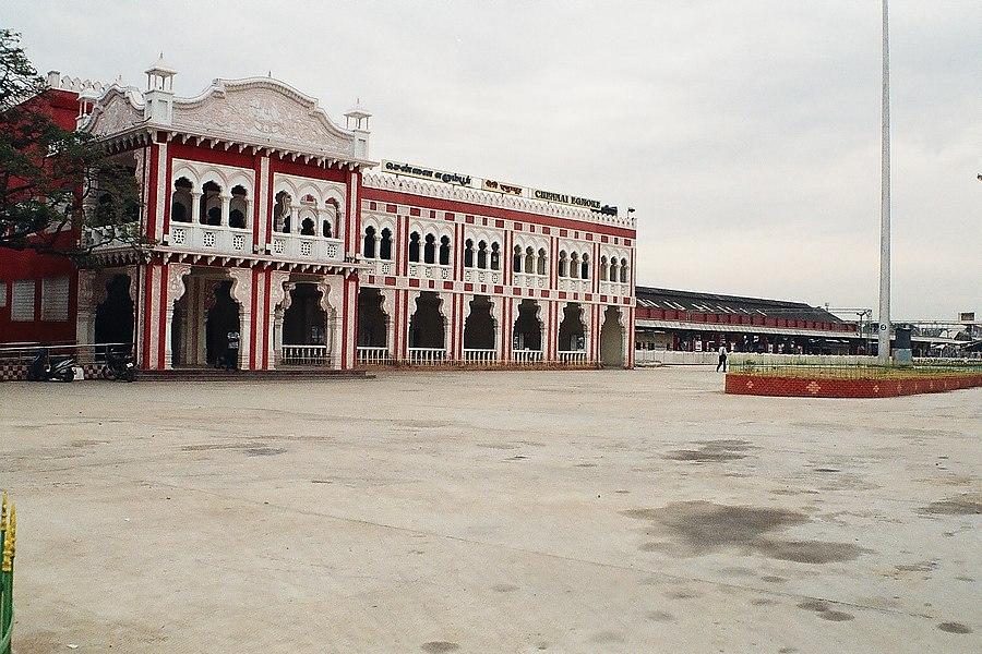 Chennai Egmore railway station - Wikiwand