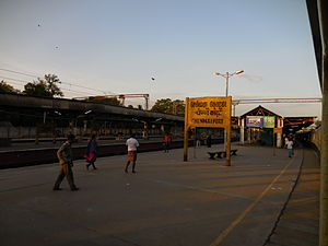 Chennai Fort railway station ViewAtDawn.jpg