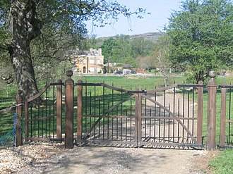 Chideock - Entrance to Chideock Manor