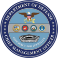 Chief Management Officer of the Department of Defense emblem.png