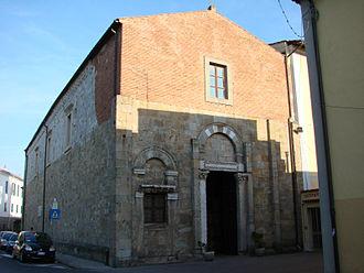 Santi Jacopo e Filippo (Pisa) - Facade of Church