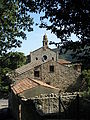 Chiesa di Santa Maria Assunta e paese (Arquà Petrarca).JPG