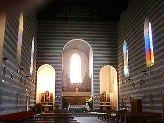 Sant'Antonio Abate (Pisa) - Image: Chiesa di sant'antonio, pisa, interno 01