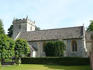 Chilton Foliat - St. Mary's parish church