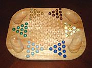 A typical game board.