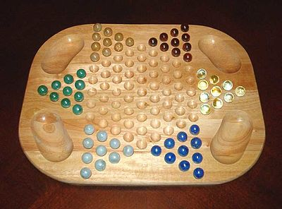 Picture of a game: Chinese Checkers