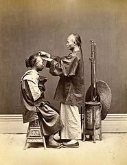 Chinese Hairdresser by Lai Afong c1870s.jpg