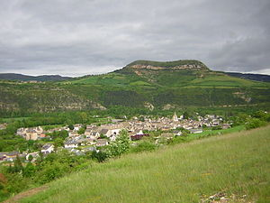 Chirac, Lozère - A view of Chirac and St-Bonnet