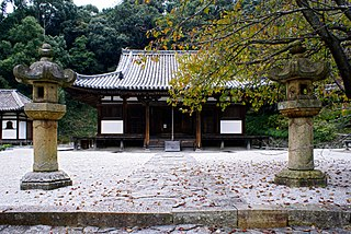 Buddhist temple in Kainan, Wakayama Prefecture, Japan
