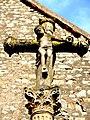 Christ manchot sur la croix près d'église de Ray-sur-Saône.jpg