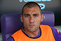 Christian Vieri with Fiorentina