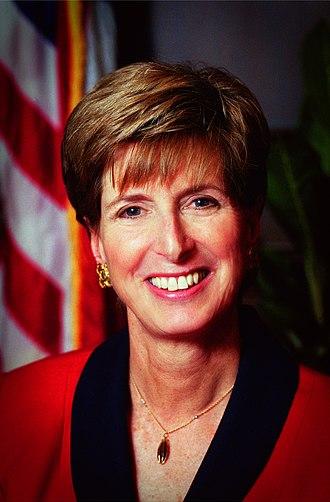 Christine Todd Whitman - Image: Christine Todd Whitman 412 APD A5 EPA13a