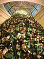 Christmas tree in the Queen Victoria Building.jpg
