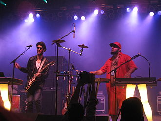 Chromeo - Chromeo at the Bonnaroo Music Festival in 2008
