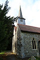 Church of St Andrew, Good Easter, Essex, England - from southwest.JPG