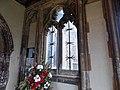 Church of St John, Finchingfield Essex England - south porch east window.jpg