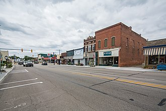 Churubusco, Indiana - Image: Churubusco, Indiana