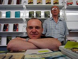 Chusé Raúl Usón - Raul Chusé Usón at the Zaragosa book fair in 2006