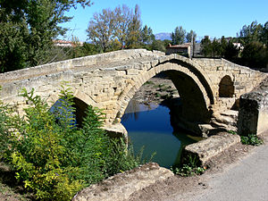Tirón River - Romanesque bridge over Tirón in Cihuri