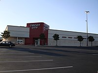 Original Circuit City Superstore Format In San Antonio Texas