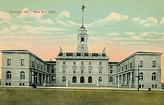 Portland City Hall (Maine) government building in Maine, USA