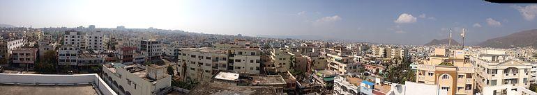 City Scape of Visakhapatnam
