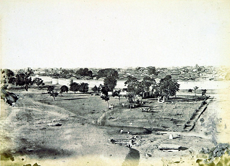 City Walls of Ahmedabad 1866