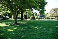 City of London Cemetery - Memorial Gardens lawn and trees 02.jpg
