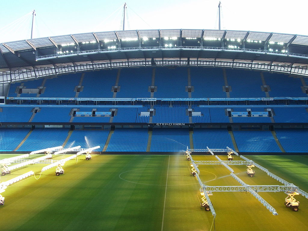 City Of Manchester Stadium: File:City Of Manchester Stadium, October 2015