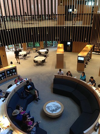 City of Perth Library - Image: City of Perth Library Level One