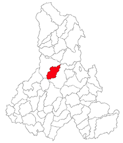 Location of Ciumani