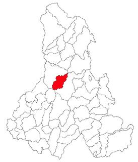 Ciumani Commune in Harghita County, Romania