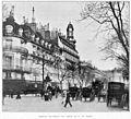 Clément Maurice Paris en plein air, BUC, 1897,145 Boulevard des italiens. Les entours de la rue Laffitte.jpg