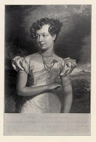 Clara Fisher - Portrait of Clara Fisher