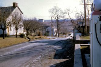 Clarkson, Ohio - Clarkson, looking south towards Clarkson Presbyterian Church
