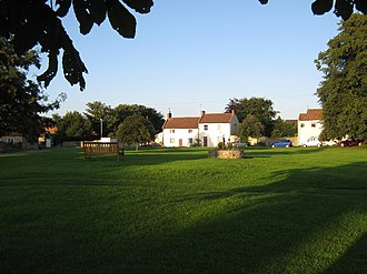 Cleasby - Image: Cleasby Village Green geograph.org.uk 1402243